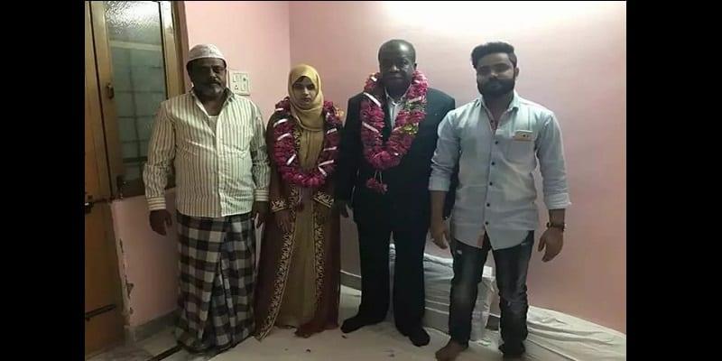 Inde-insolite: Une gamine de 15 ans mariée à un Nigérian de 60 ans (photos)