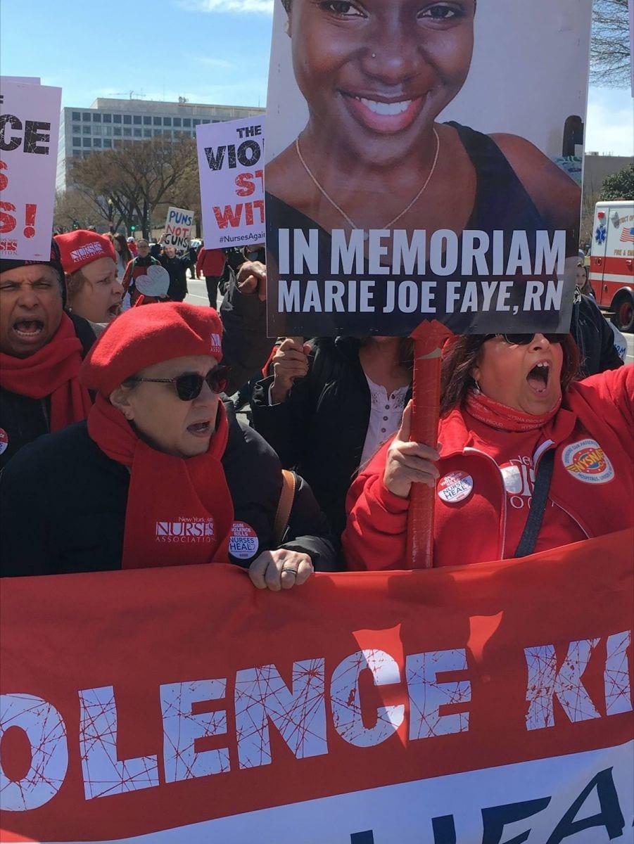 Meurtre de Marie Faye à New York : Plus d'un million d'américains marchent
