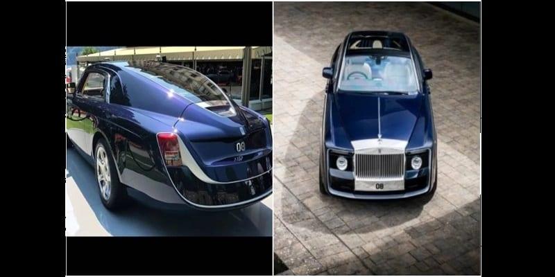 vid o photos la voiture la plus ch re au monde. Black Bedroom Furniture Sets. Home Design Ideas