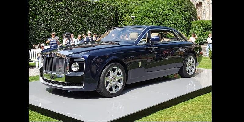 d couvrez la rolls royce sweptail la voiture la plus ch re au monde vid o. Black Bedroom Furniture Sets. Home Design Ideas