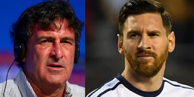 Image result for mario kempes  messi
