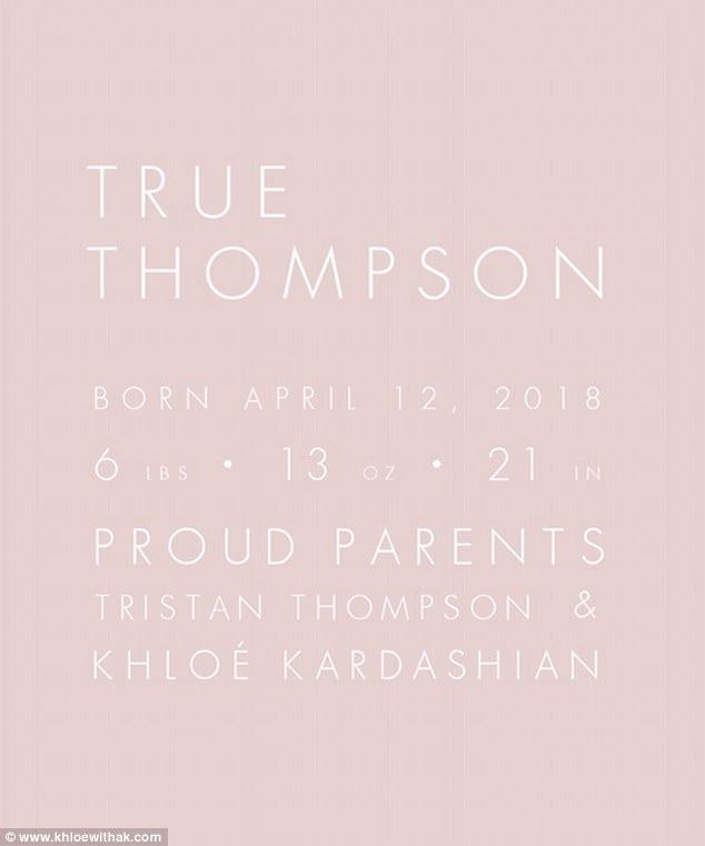 People: Khloe Kardashian brise la tradition familiale