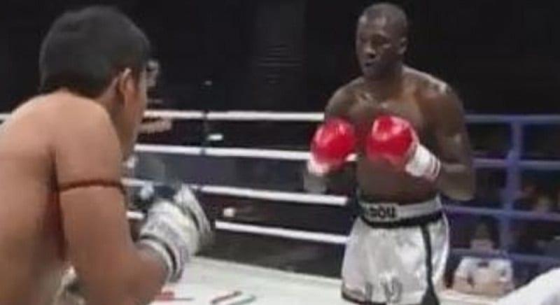 Amadou ba boxeur