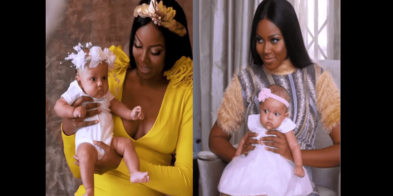 People: Yvonne Nelson dévoile enfin le visage de son bébé et répond aux critiques (vidéo)