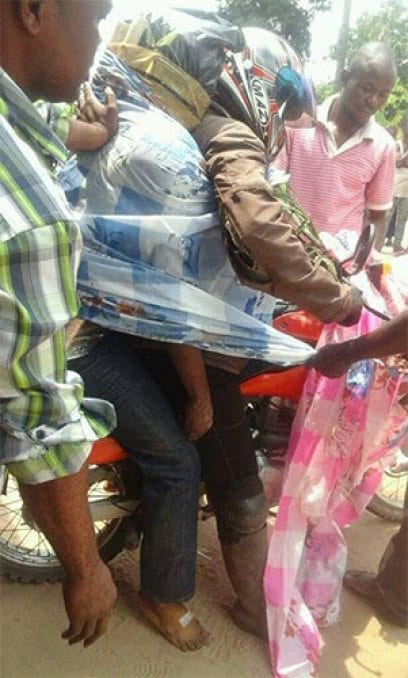 RDC: Voici comment les cadavres sont transportés dans certaines zones (photos)