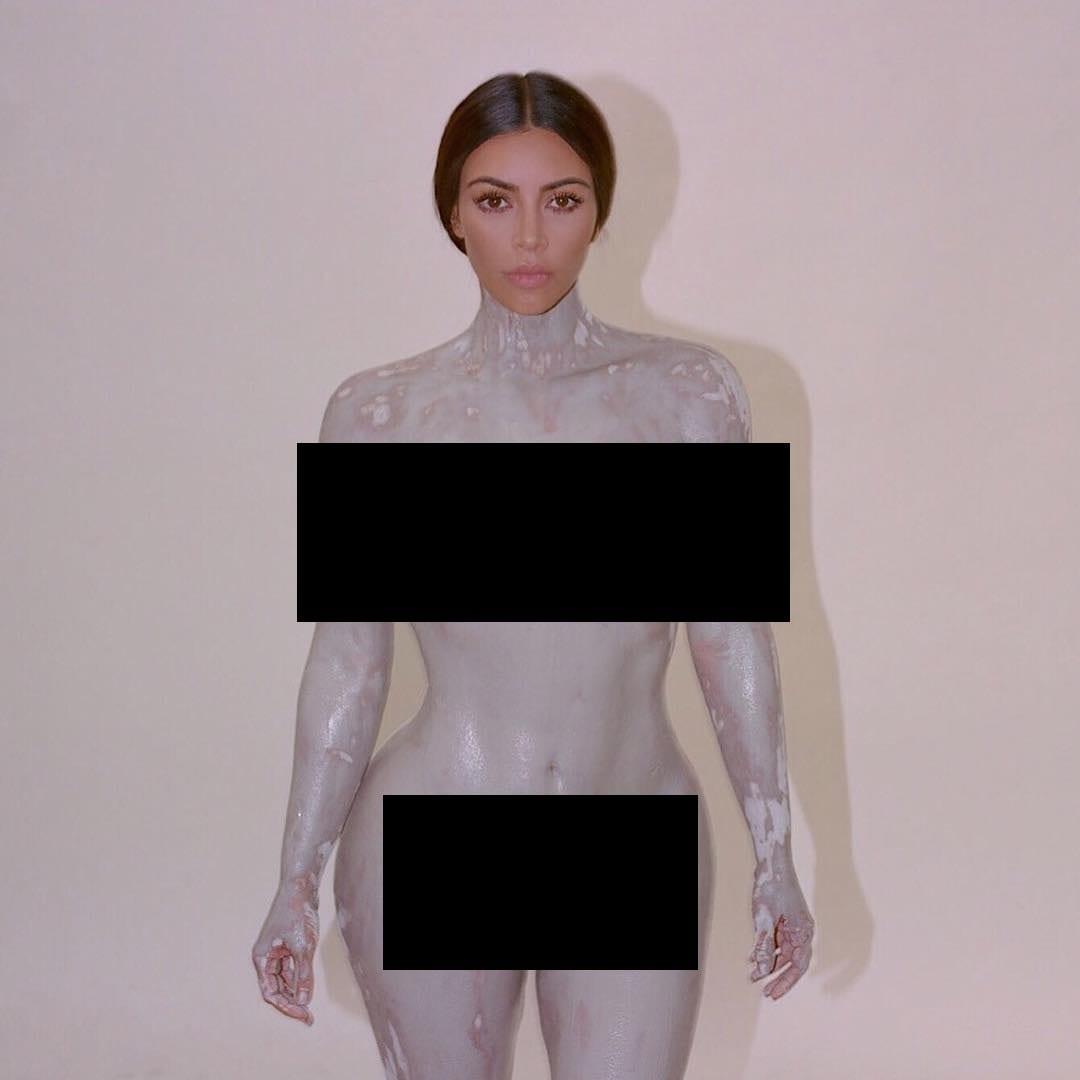 People: Kim Kardashian se dévoile toute nue sur twitter (photo)