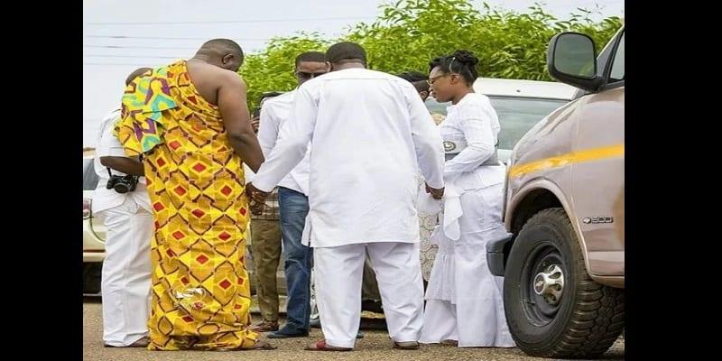 People: Découvrez le mariage traditionnel de l'acteur ghanéen, John Dumelo (images et vidéos)