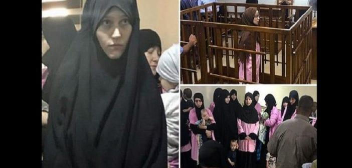 Irak: Des épouses étrangères de l'Etat islamique pourraient être bientôt exécutées