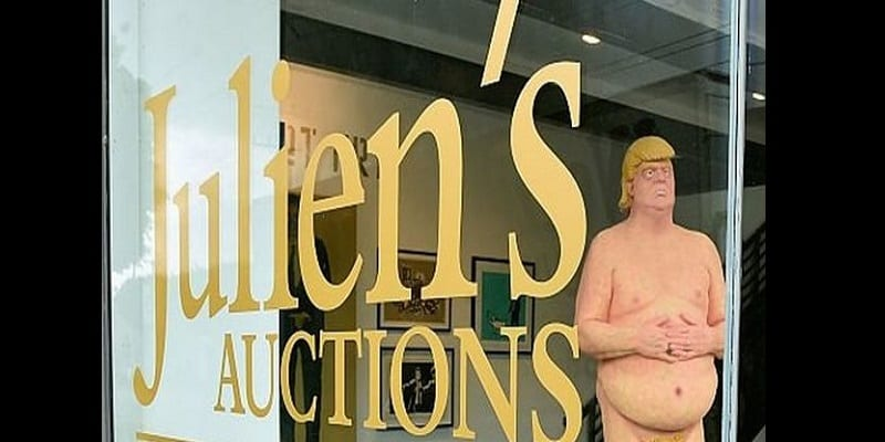 États-Unis: Une statue de Trump nu vendue à 28000 dollars (photos)