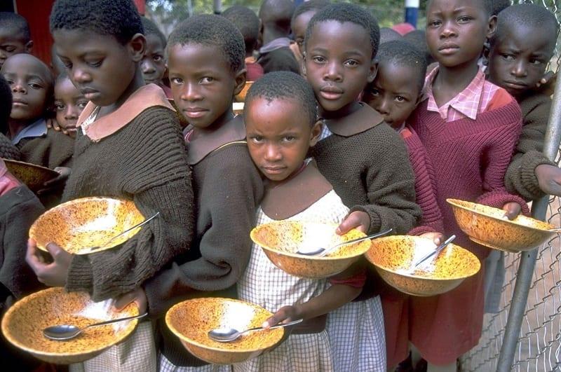 Hunger im Südlichen Afrika, aber Spender knausern mit der Hilfe