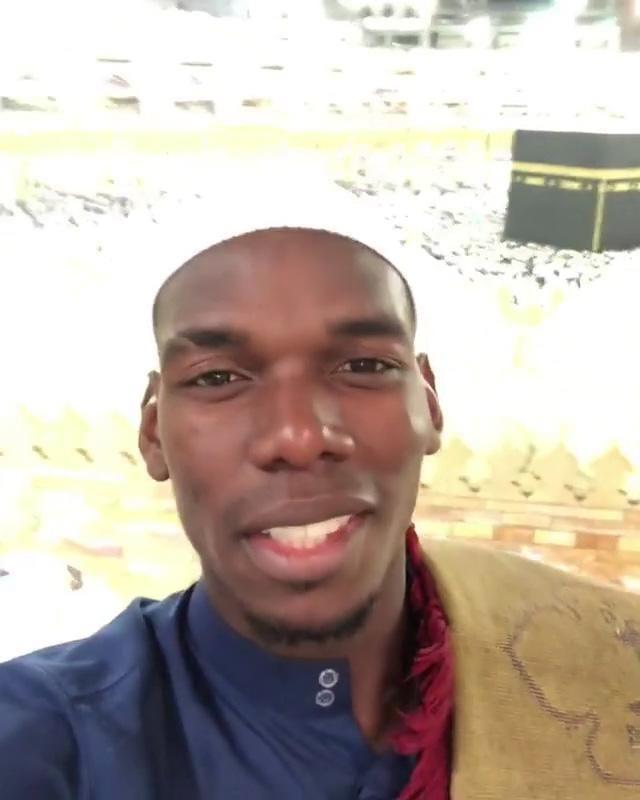 Ramadan 2018: Le message de Paul Pogba en pèlerinage à la Mecque (vidéo)