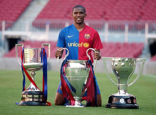 Football: Patrick Mboma désigne le meilleur joueur africain de l'histoire