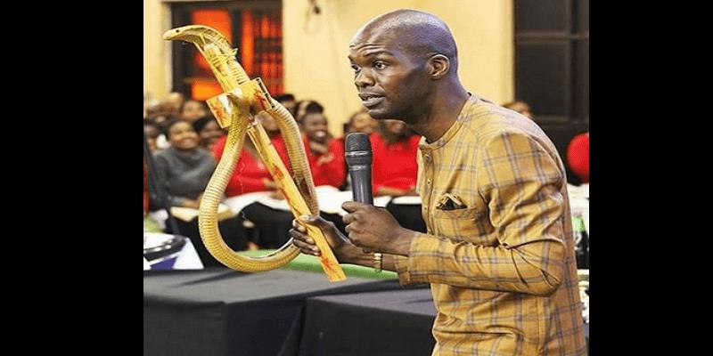 Afrique du Sud: Un pasteur utilise un serpent vivant pour opérer des ''miracles'' (photos)
