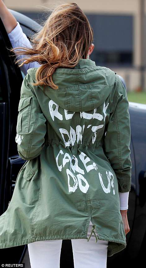 « Je m'en fiche complètement »: la veste controversée de Melania Trump (photos)
