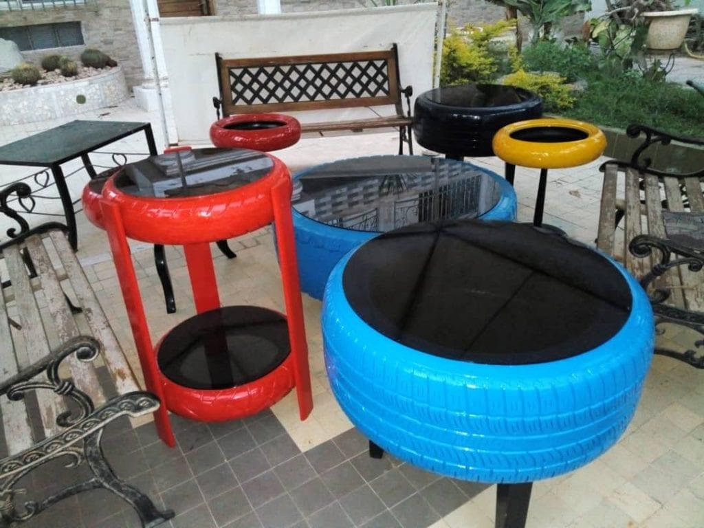 Sénégal : Quand Malick redonne une seconde vie aux pneus usés