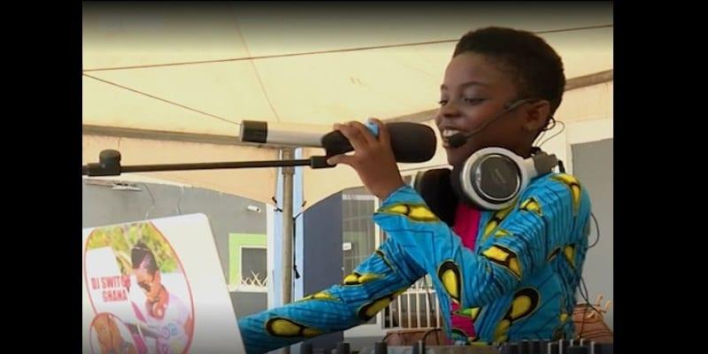 Ghana: DJ Switch, la star de 10 ans qui fait le Buzz sur la toile (vidéo)