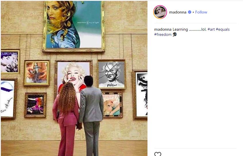 Showbiz : Les fans de Beyonce s'attaquent à Madonna, la raison (Photo)