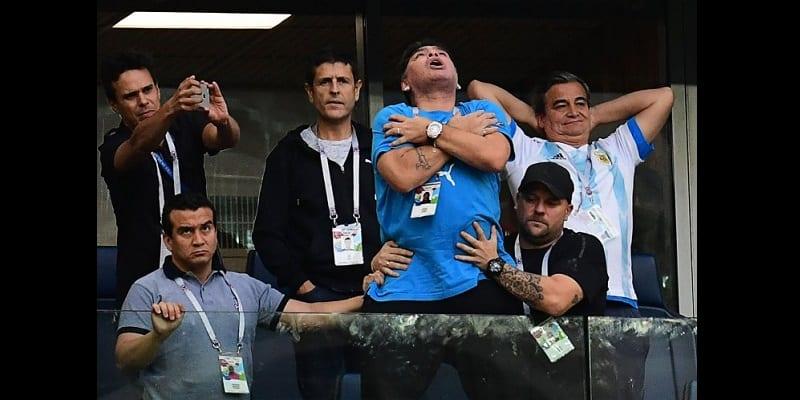 Mondial 2018: Diego Maradona hospitalisé après la victoire de l'Argentine (vidéo)