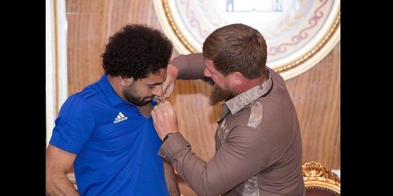 Mondial 2018: Mohamed Salah fait citoyen honorifique tchétchène (photos)