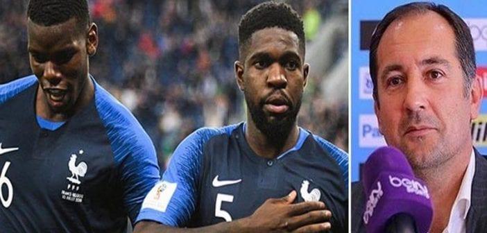 Mondial: Un ancien joueur croate fait une sortie raciste sur l'équipe de France, Deschamps réagit!