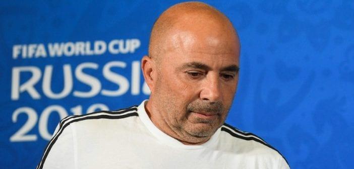 Mondial 2018: L'Argentine limoge son entraîneur Jorge Sampaoli
