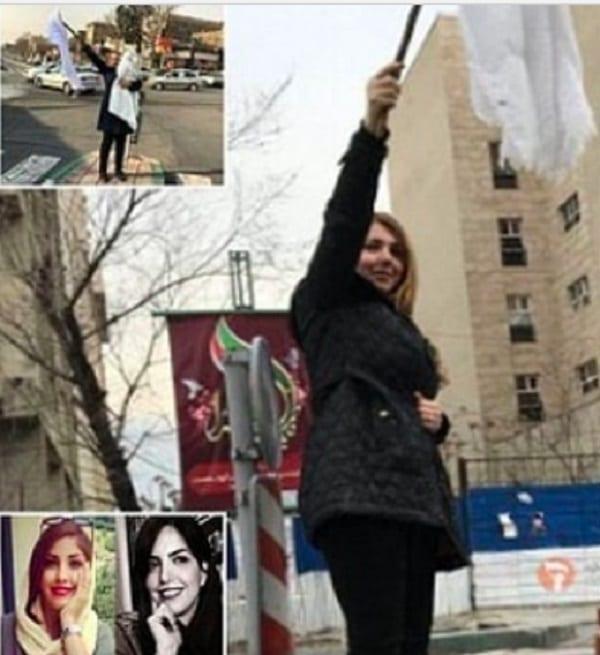 Iran: une femme écope de 20 ans de prison pour avoir enlevé son foulard en signe de protestation