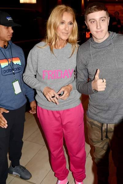 People: L'hallucinante tenue de Céline Dion lors d'une rencontre avec ses fans (photos)