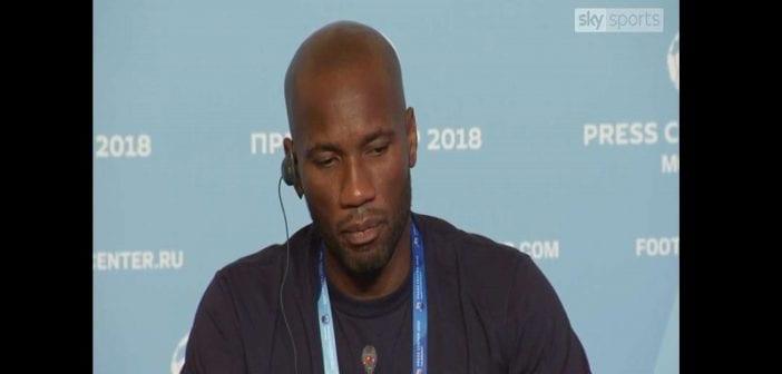 Ballon d'Or 2018: Didier Drogba révèle son favori (vidéo)