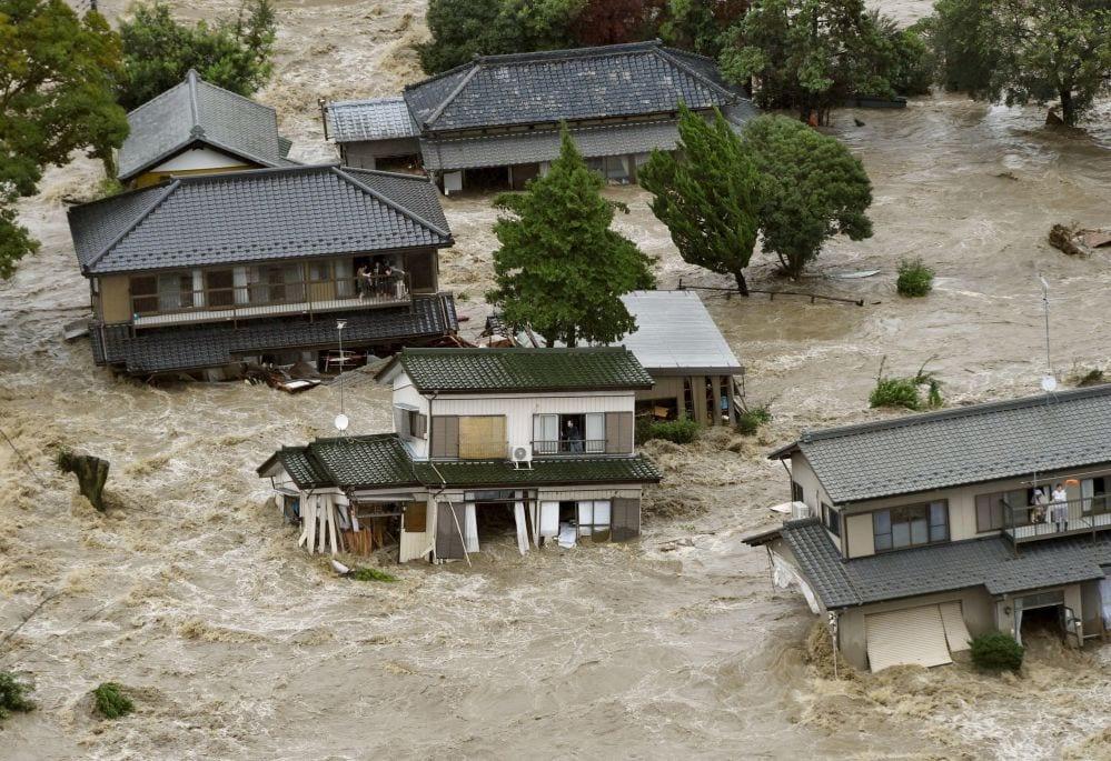 inondations japon