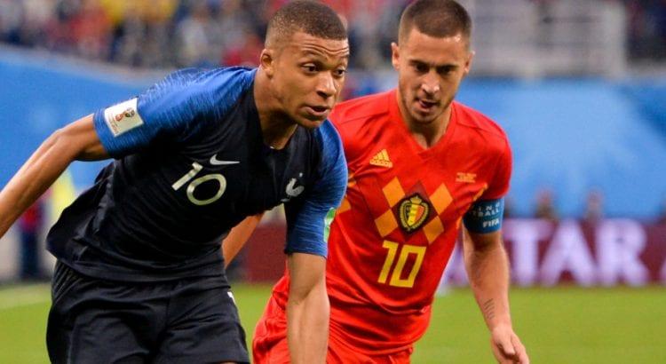 Mondial 2018: La réponse sèche de Mbappé aux critiques des joueurs belges