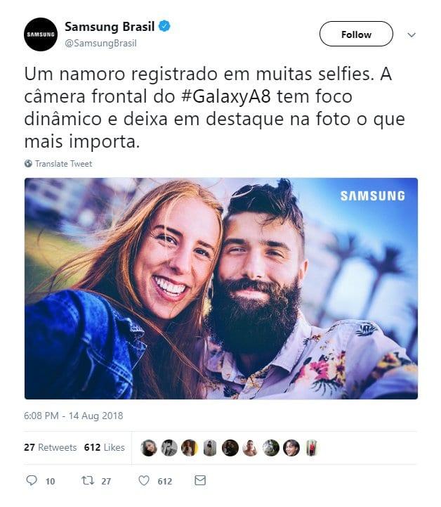 Technologie: Ce gros mensonge de Samsung démenti sur Twitter (Photo)
