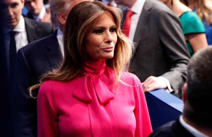 "USA: Melania outfits to ""punish"" Donald Trump"
