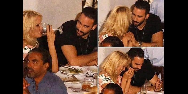 Le footballeur Adil Rami largué par sa petite amie Pamela Anderson (photos)