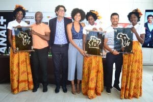«Mara, femme unique » : Les acteurs de la série face à la presse à Abidjan