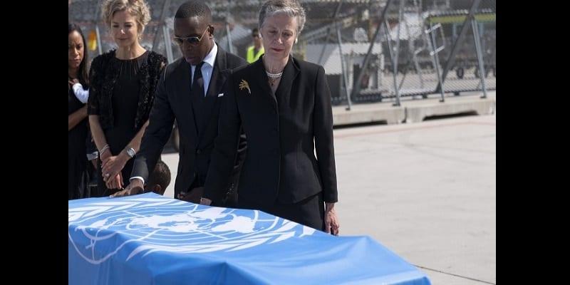 Décès de Kofi Annan: la dépouille de l'ancien diplomate est arrivée au Ghana (vidéo)