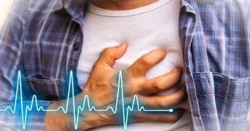 Men with chest pain – heart attack