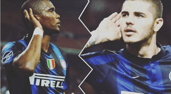 La réponse de Samuel Eto'o à Mauro Icardi, l'attaquant de l'inter-Milan