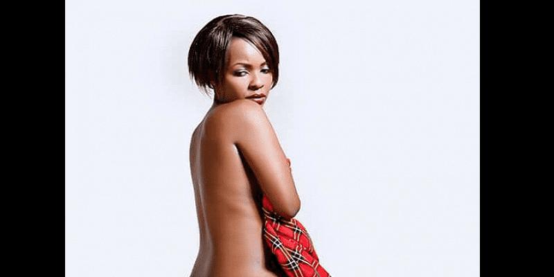 Kenya: Une aspirante à la présidence pose à moitié nue pour battre campagne