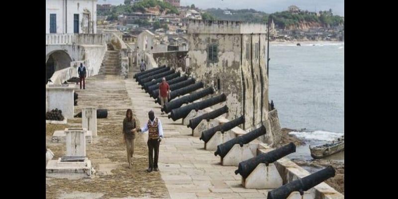 Ghana: L'esclavage a été «une tragédie» selon Melania Trump (photos)