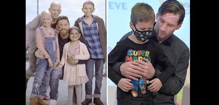 Santé: Lionel Messi fait un don de 2,37 millions de livres sterling