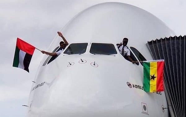 Capitaine Quainoo: Le pilote ghanéen qui fait voler le plus grand avion du monde