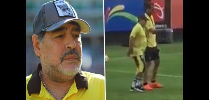 Malade, Diego Maradona a besoin de genoux artificiels pour continuer à marcher (vidéo)