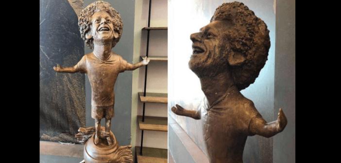Égypte: La statue ratée de Mohammed Salah devenue un objet de moquerie