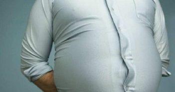 Homme gros ventre