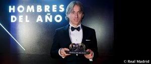 Real Madrid: Luca Modric reçoit une nouvelle distinction
