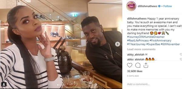 Emmanuel Adebayor: traité d'avare , sa copine Dillish répond!