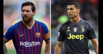 cristiano-ronaldo-barcelona-ace-lionel-messi-aims-real-madrid-dig-football-sport