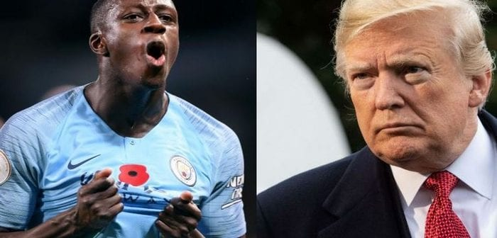 France: Benjamin Mendy tacle Donald Trump-Photos