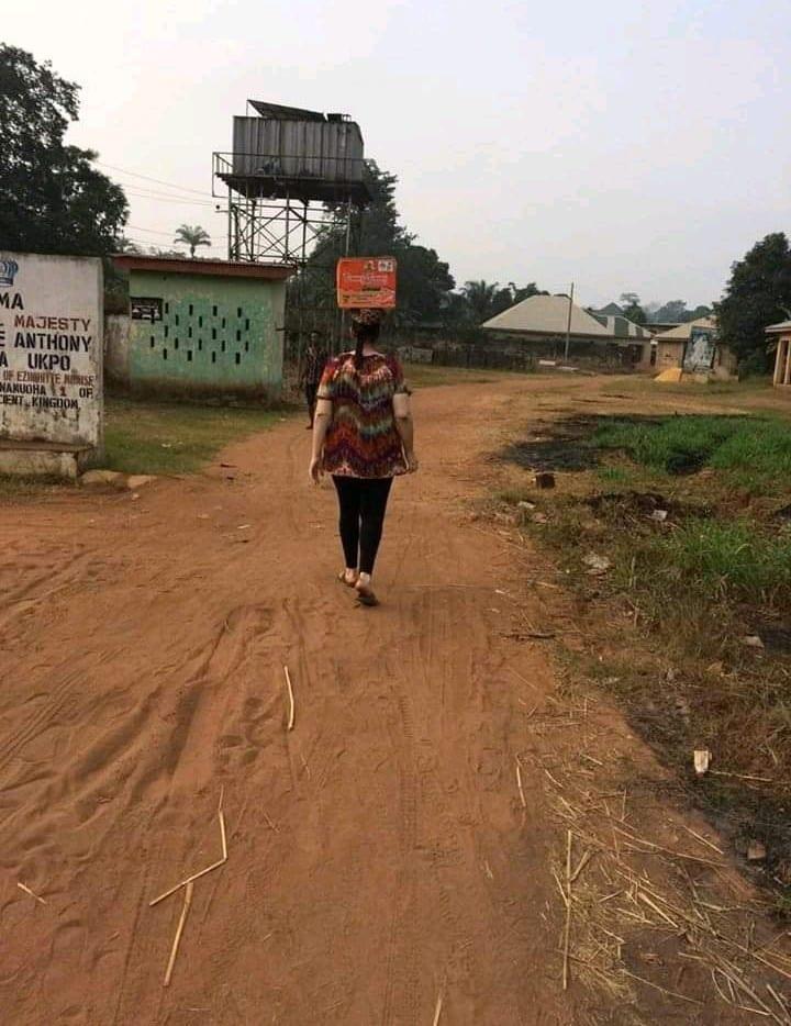 Photos: une Allemande mariée à un Nigérian raconte son séjour au Nigeria