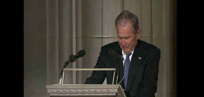 Pres-George-Bush-pays-tribute-to-his